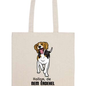Hallom de nem érdekel beagle – Prémium hosszú fülű táska
