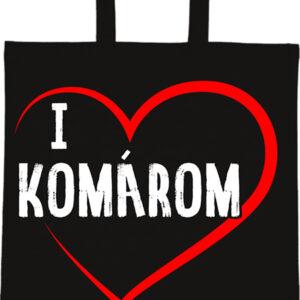 I love Komárom – Basic rövid fülű táska
