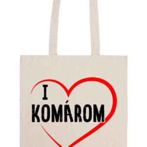I love Komárom – Prémium hosszú fülű táska