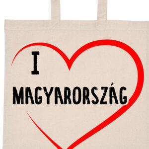I love Magyarország – Basic rövid fülű táska