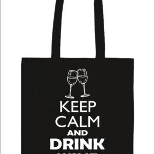 Keep calm bor – Prémium hosszú fülű táska