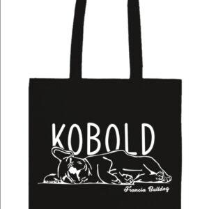 Kobold francia bulldog – Prémium hosszú fülű táska