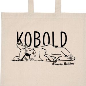 Kobold francia bulldog – Basic rövid fülű táska