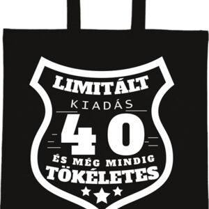 Limitált kiadás 40 – Basic rövid fülű táska