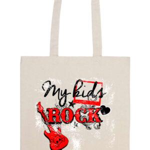 My kids rock zene – Prémium hosszú fülű táska