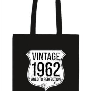 Vintage 1962 szülinapos – Prémium hosszú fülű táska