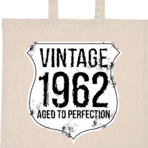 Vintage 1962 szülinapos – Basic rövid fülű táska