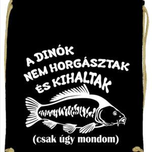 A dínók kihaltak horgászat – Prémium tornazsák