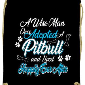 Adopted pitbull – Prémium tornazsák