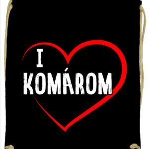 I love Komárom- Basic tornazsák