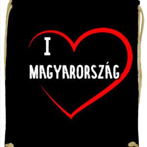 I love Magyarország – Prémium tornazsák