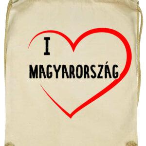 I love Magyarország- Basic tornazsák
