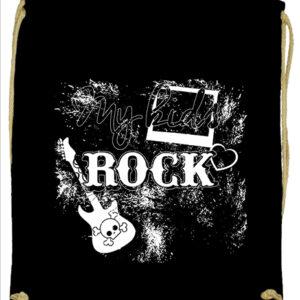 My kids rock zene – Prémium tornazsák