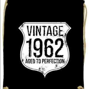 Vintage 1962 szülinapos – Prémium tornazsák
