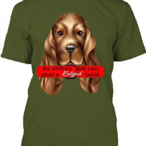Otthon ahol a kutya – Férfi póló