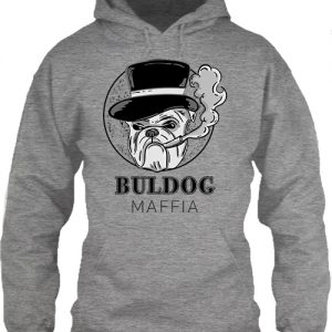 Buldog maffia – Unisex kapucnis pulóver