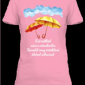 Eső nélkül nincs növekedés – Női póló