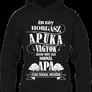 Én egy horgász apuka vagyok – Unisex kapucnis pulóver