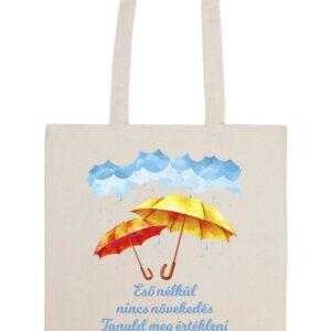 Eső nélkül nincs növekedés – Prémium hosszú fülű táska