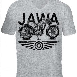 Jawa – Férfi V nyakú póló