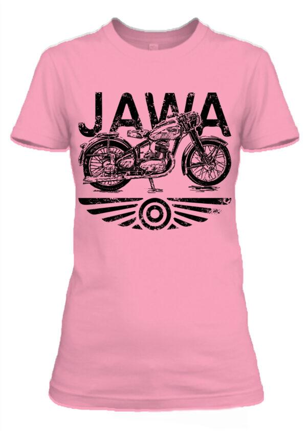 Női póló Jawa pink