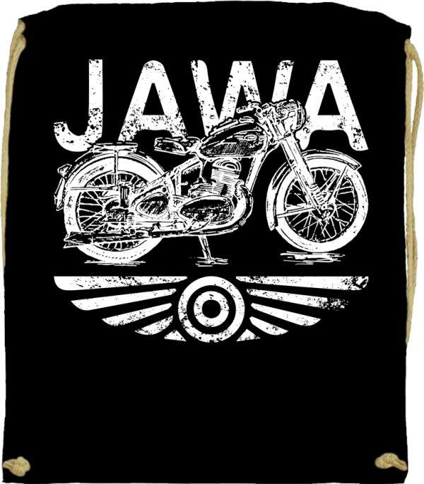 Tornazsák Jawa fekete