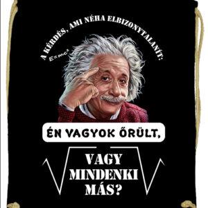 Mindenki őrült Einstein – Prémium tornazsák