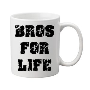 Bros for life – Bögre
