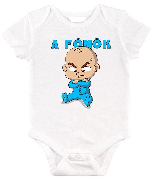 Baby body A főnök fiú