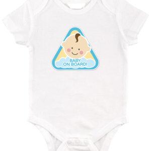 Baby on board fiú – Baby body