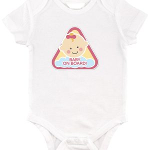 Baby on board lány – Baby body