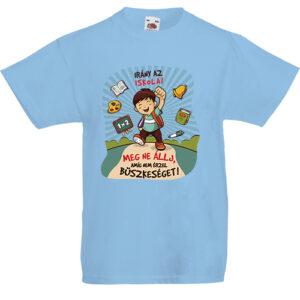 Irány az iskola _ fiú – Gyerek póló