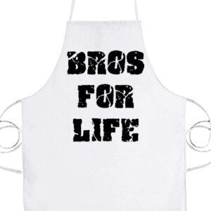 Bros for life- Prémium kötény