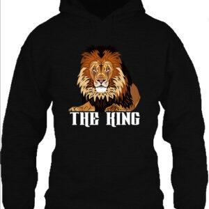 The king – Unisex kapucnis pulóver