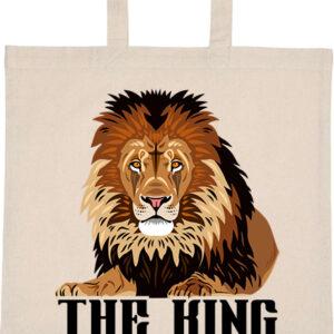 The king_Az oroszlán – Basic rövid fülű táska