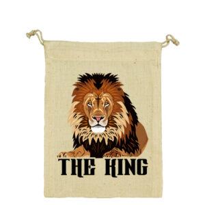 The king – Vászonzacskó közepes