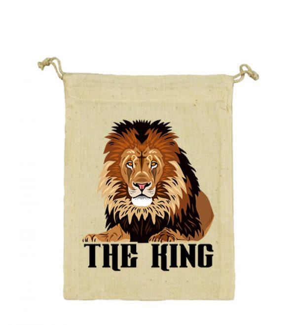Vászonzacskó The king