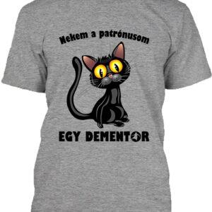 Patrónus cica – Férfi póló