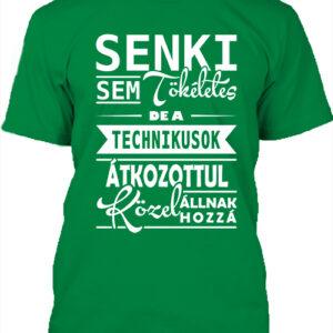 Tökéletes technikusok – Férfi póló