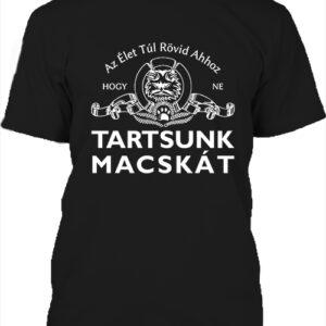 Tartsunk macskát – Férfi póló