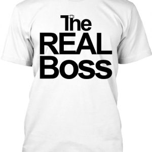 The real boss – Férfi póló
