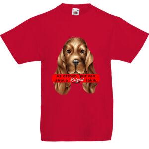 Az otthon kutyával- Gyerek póló