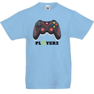 Player2- Gyerek póló