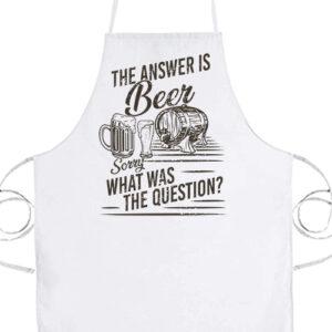The answer is beer- Prémium kötény
