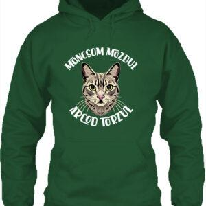 Macska mancs – Unisex kapucnis pulóver
