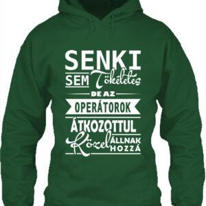 Tökéletes operátorok – Unisex kapucnis pulóver