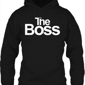 The boss – Unisex kapucnis pulóver