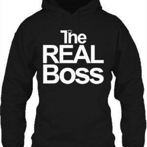 The real boss – Unisex kapucnis pulóver