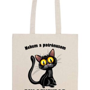 Patrónus cica – Basic hosszú fülű táska