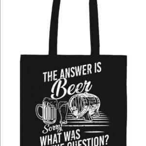 The answer is beer – Prémium hosszú fülű táska